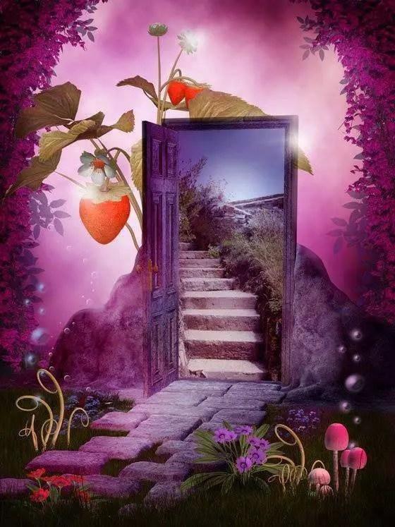 escalier divin