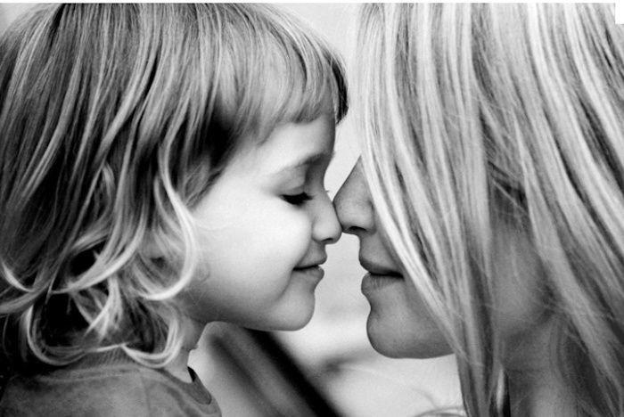 Montrer votre amour aux enfants