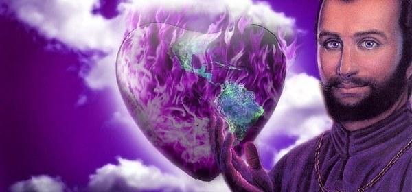flamme violette