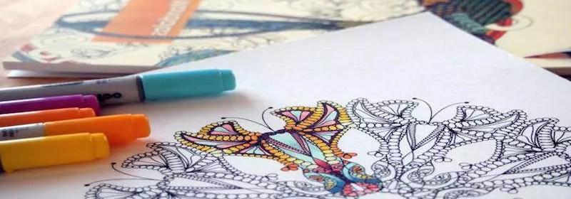 meditation coloriage