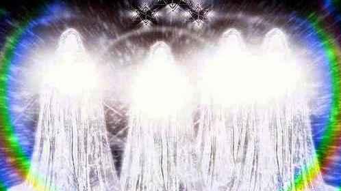 Les êtres de lumière sont présents