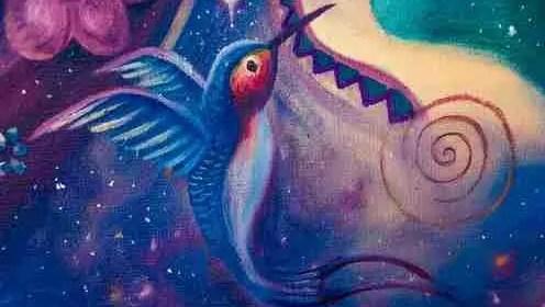 Votre Amour humain est comme un oiseau volage