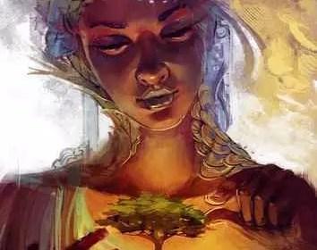 Astro Maya,la mère nourricière,la paix en soi