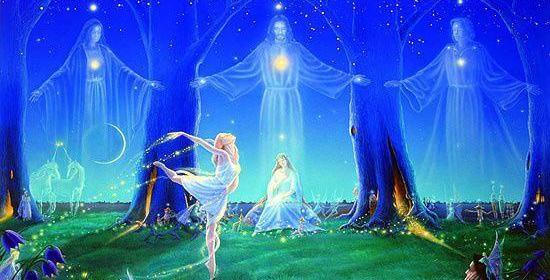 les êtres de lumière