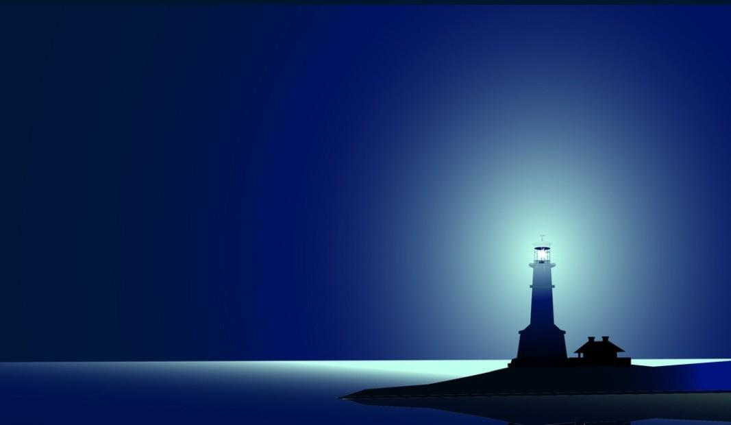La Terre – un grand phare de lumière dans l'univers