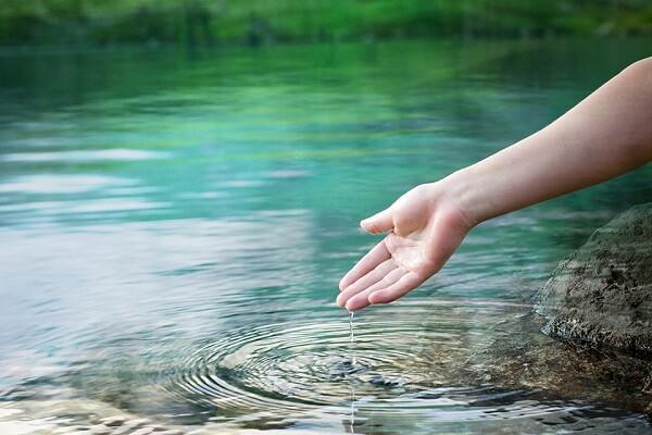 de l'eau pure