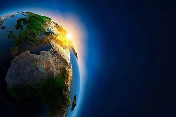 la planete gaia dans l'espace