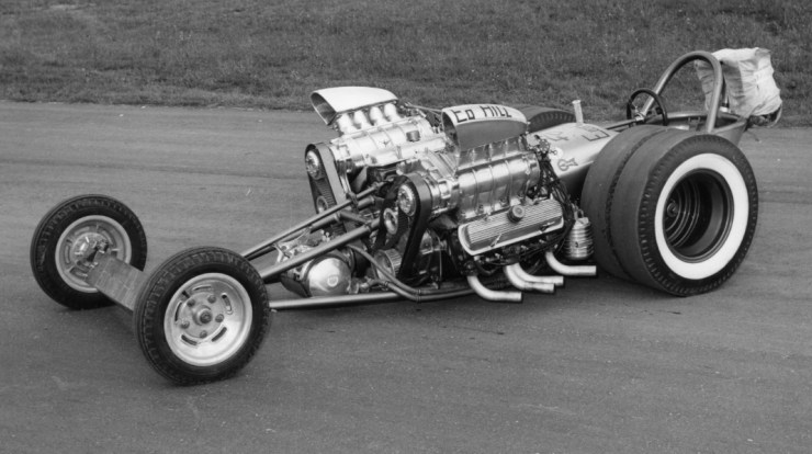 Eddie Hill Double Dragon Dragster