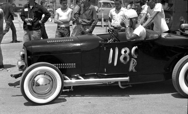 Model A roadster in 1953
