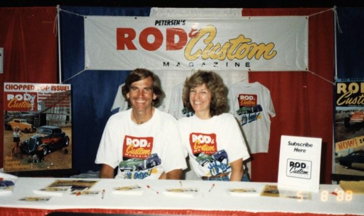 Pat Ganahl and Anna Ganahl for Rod & Custom Magazine