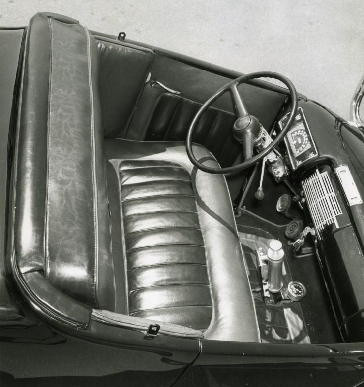 Paul Chamberlain's 1929 Ford Model A roadster