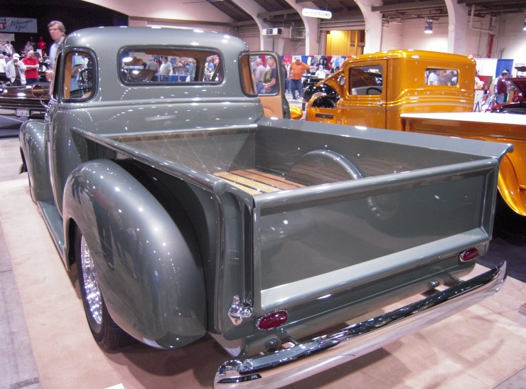 Eric Clapton's Chevy pickup