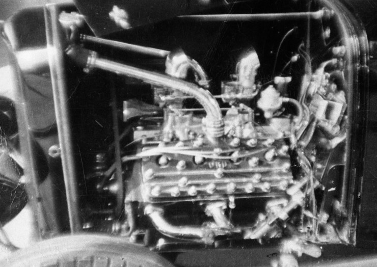 Doane Spencer's Deuce '46 Merc engine
