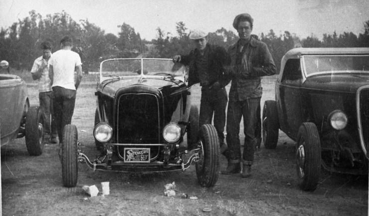 Doane Spencer's '32 Ford Deuce with Jack Dorn
