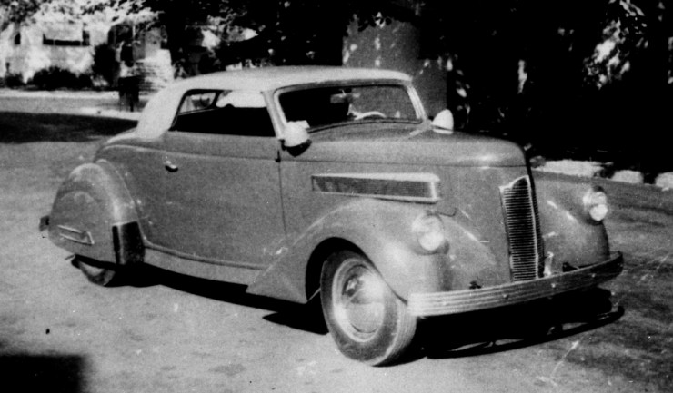 Harry Westergard's '36 Ford Cabriolet