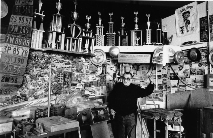 Frank DeRosa in his Pittsburg, CA shop