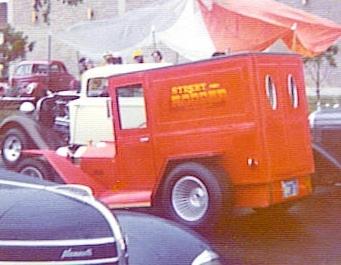 Les Jarvis' Mini-T panel truck