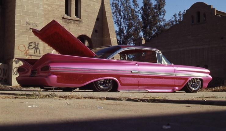 '59 bubbletop pink pearl Impala
