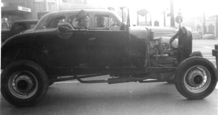 '29 roadster in 1945