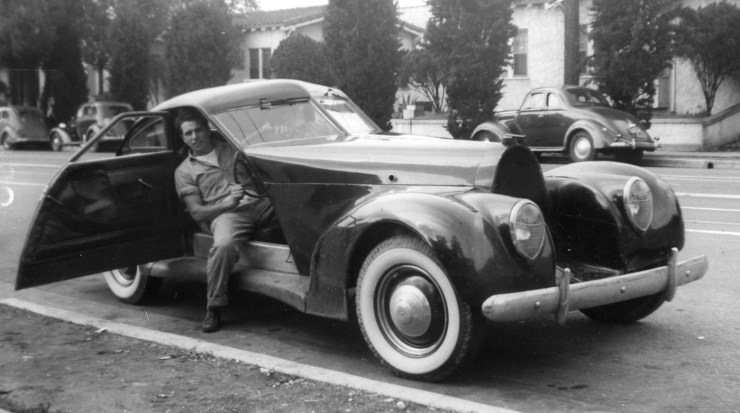 Custom car in 1945