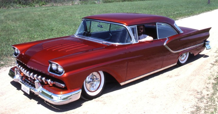 Don Boeke's custom '57 Ford hardtop