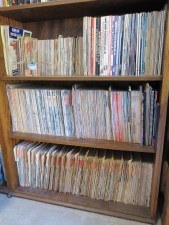 Pat Ganahl's magazine library
