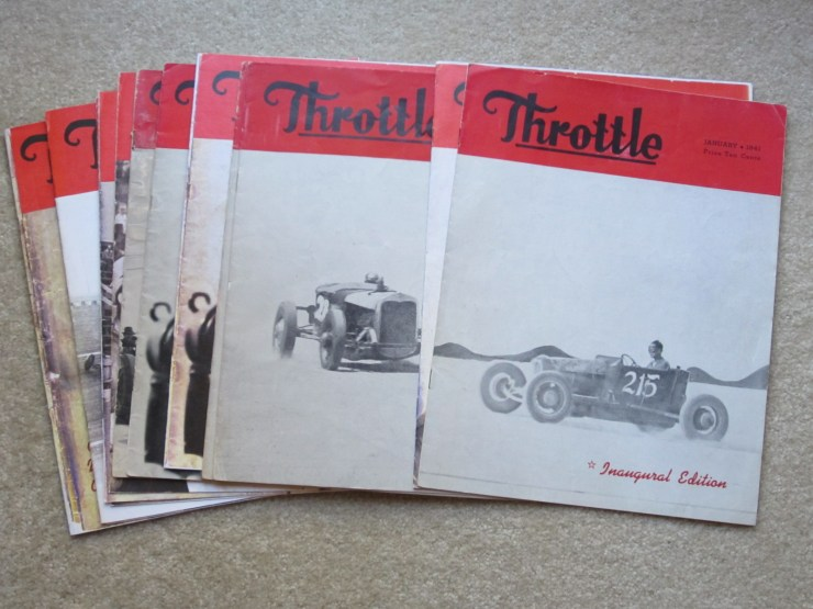 Throttle magazine cover