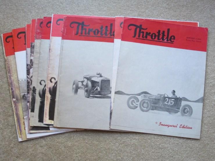 Throttle magazine cover
