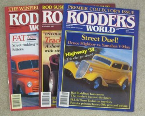 Rodder's World magazine covers