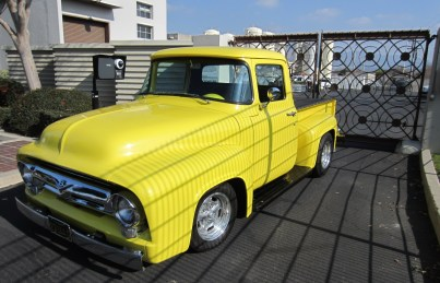 Pat Ganahl's F100 at City of Burbank Valley Pumping Plant, at 2030 Hollywood Way