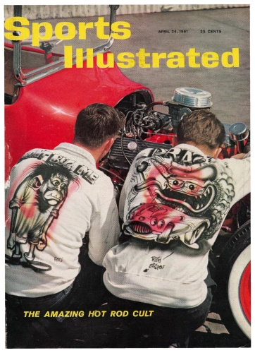 April 24 1961 Sports Illustrated cover The Amazing Hot Rod Cult