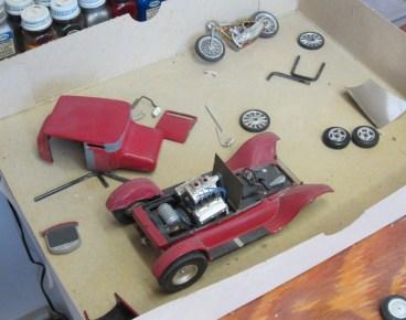 Pat Ganahl's model cars