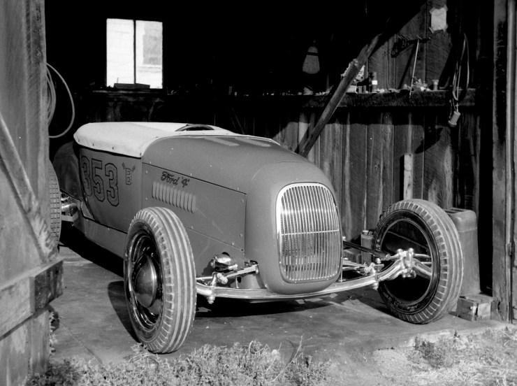 Wes Cooper's '27 T roadster