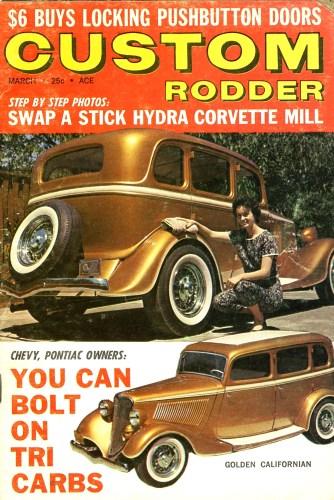 Gene Winfield's Golden Californian '33 Fordor