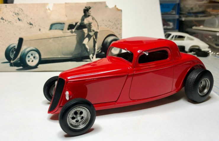Bryce Michelmore model of Vern Luce's coupe