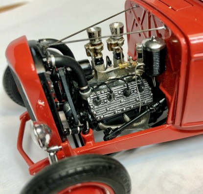 Bryce Michelmore model of McGee roadster