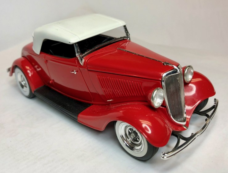 Bryce Michelmore model of 1934 roadster