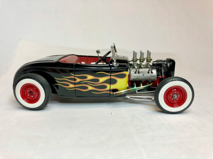 Bryce Michelmore model of roadster hot rod