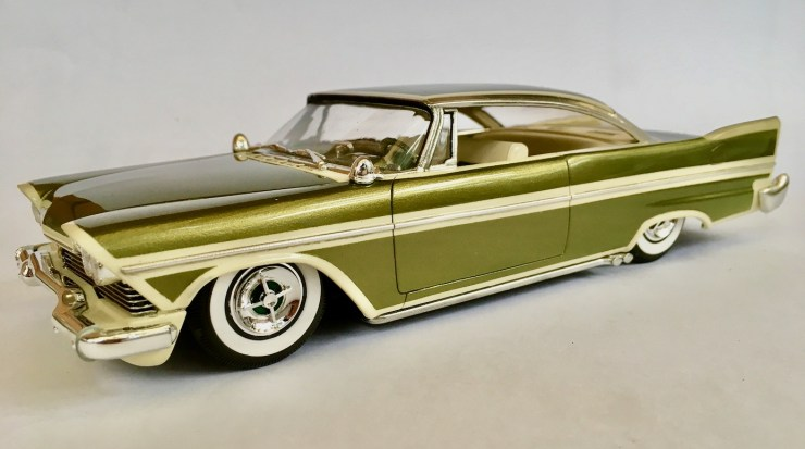 Bryce Michelmore model of 1957 Plymouth