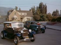 Jack Smith's A coupe and Doc Glen's A pickup in Village of the Giants