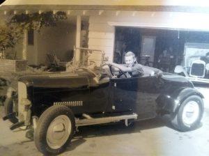 """Bruce """"Doc"""" Glen '29 roadster"""