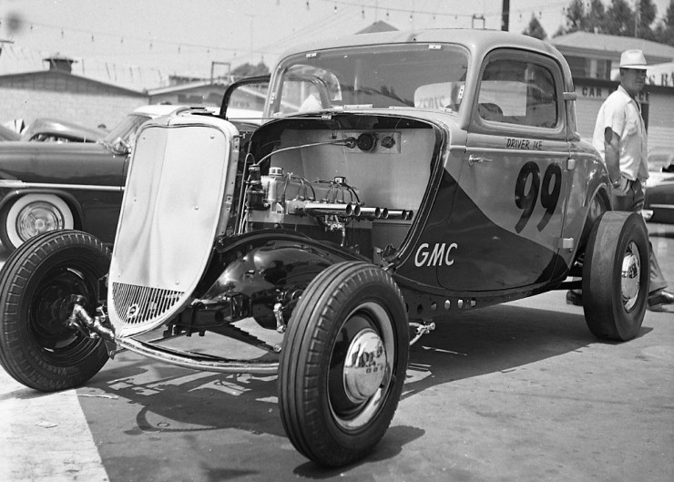 Ike Iacono '33 Ford coupe