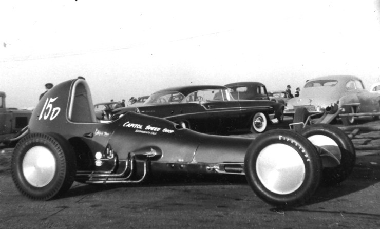 Glass Slipper dragster
