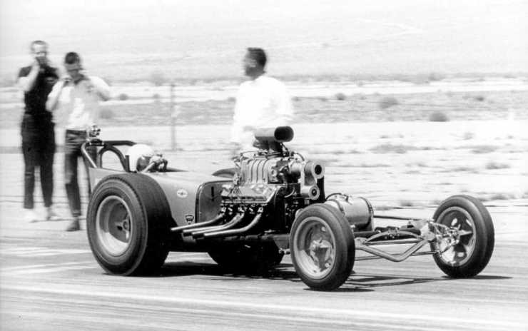 Albertson Olds dragster