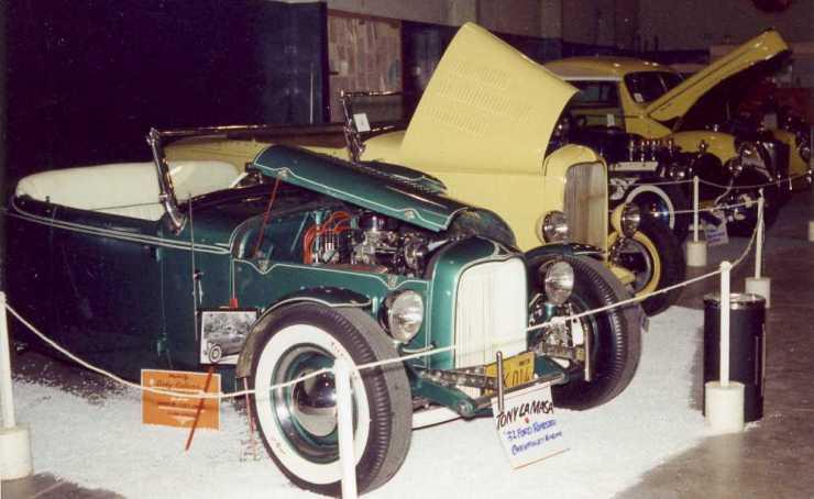 Tony LaMasa '32 and Bob McGee roadster