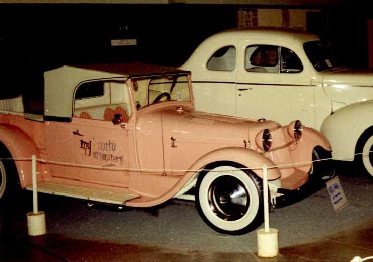 Bill Foster's '29 roadster pickup