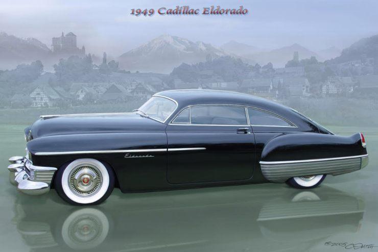 Charlie Smith artwork of '49 Eldorado
