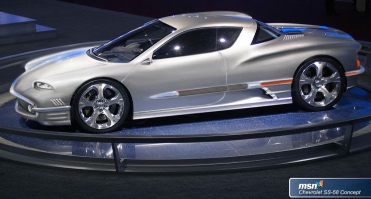 Charlie Smith artwork of Acura concept car