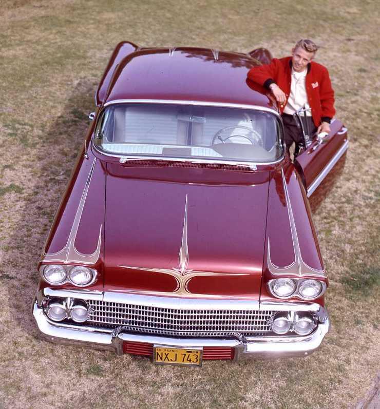 Bill Morse 1958 Impala custom