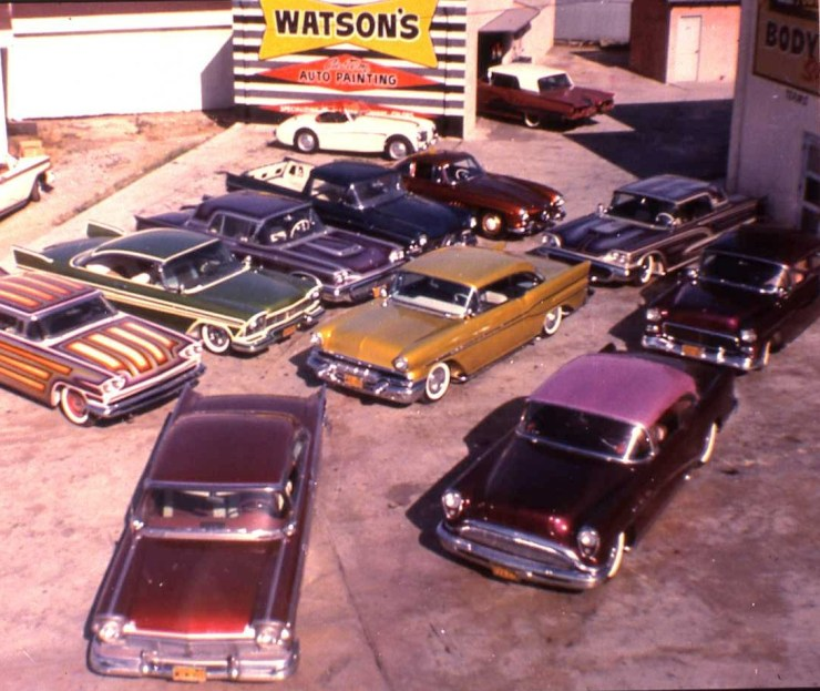 Larry Watson's custom cars